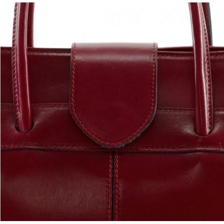 Kožená kabelka Bern 376