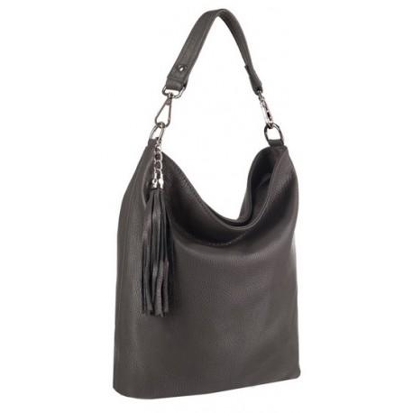 Kožená kabelka shopper KAVY 2371