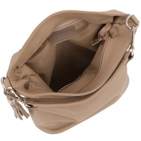 Kožená kabelka shopper KAVY 2350