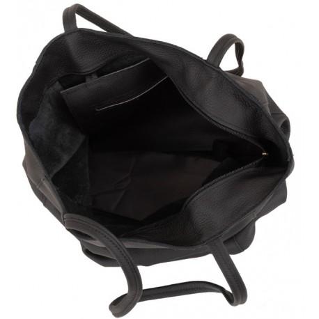Kožená kabelka - vak San Jose 2856
