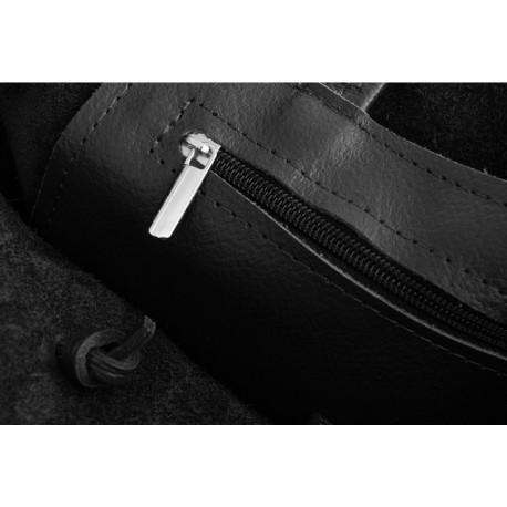 Kožená kabelka - vak San Jose 2854