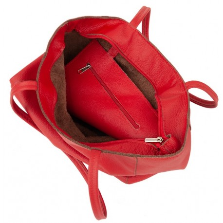 Kožená kabelka - vak San Jose 3108