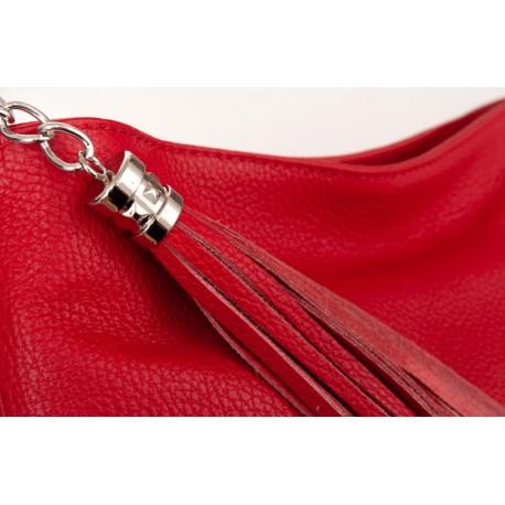 Kožená kabelka shopper KAVY 2731