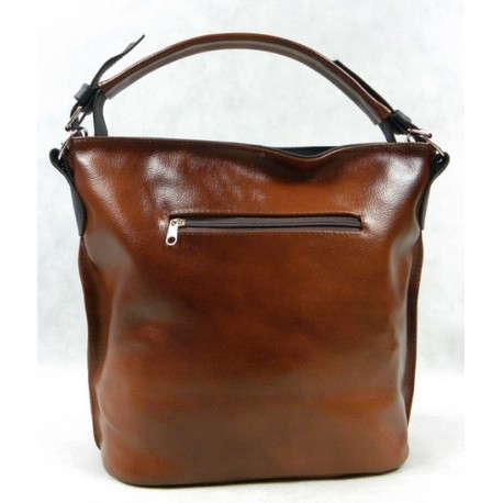 Kožená kabelka San Diego 1009