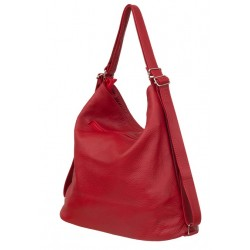 Kožená kabelka-batoh Verona 3587
