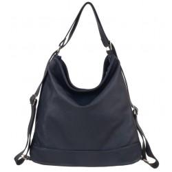 Kožená kabelka-batoh Verona 3061
