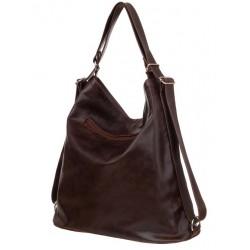 Kožená kabelka-batoh Verona 3614