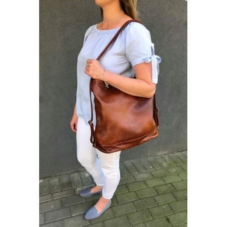 Kožená kabelka-batoh Verona 3272